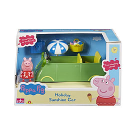 Peppa Pig Holiday Rental Sunshine CarFigurines
