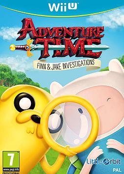 Adventure Time: Finn & Jake Investigations Wii U