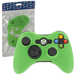 ZedLabz silicone case for Xbox 360 controller skin protector cover grip - green XBOX360