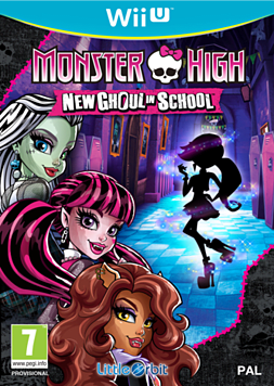 Monster High New Ghoul In School Wii U
