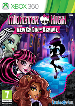 Monster High New Ghoul In School Xbox 360