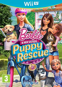 Barbie & Her Sisters: Puppy Rescue Wii U