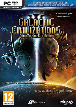 Galactic Civilizations IIIPCCover Art