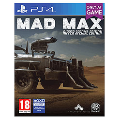 Mad Max: Ripper Special EditionPlayStation 4Cover Art