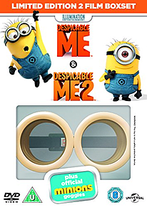 Despicable Me and Despicable Me 2 with Limited Edition Minion GogglesBlu-ray