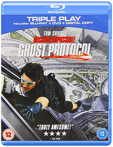 Mission Impossible: Ghost Protocol Triple PlayBlu-ray
