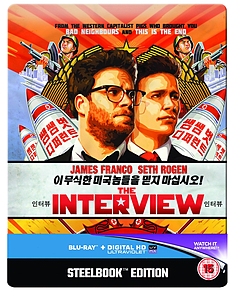 The Interview: Limited Steelbook EditionBlu-ray