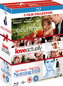 About Time Love Actually and Notting HillBlu-ray