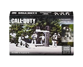 Mega Bloks Call of Duty Alpine RangersBlocks and Bricks
