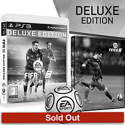 FIFA 16 Deluxe Edition With Only At GAME Preorder Pack PlayStation 3