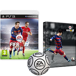 FIFA 16 With Only At GAME Preorder Pack PlayStation 3