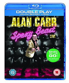 Alan Carr Spexy Beast Live: Double PlayBlu-ray