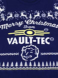 Fallout Blue Xmas Jumper (Small) screen shot 1
