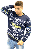 Fallout Blue Xmas Jumper (Small) screen shot 4