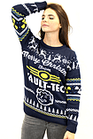 Fallout Blue Xmas Jumper (Small) screen shot 5