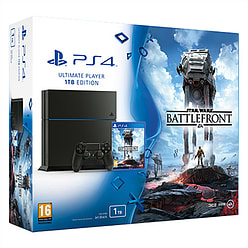 PlayStation 4 1TB With Star Wars BattlefrontPlayStation 4