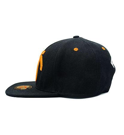45fb1990f70 Buy Fnatic Snapback Baseball Cap Black Peak