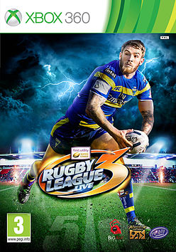 Rugby League Live 3Xbox 360Cover Art