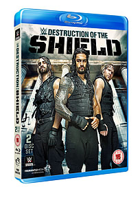 WWE: The Destruction Of The ShieldBlu-ray