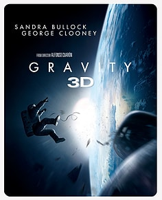 Gravity: Limited Edition SteelbookBlu-ray