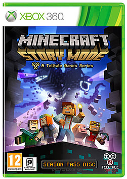 Minecraft Story Mode Xbox 360 Cover Art