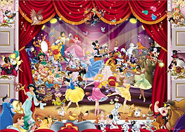 King Disney Theatre Puzzle (1000 Pieces)Puzzles and Board Games