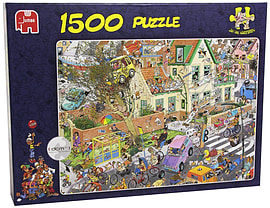 Jan Van Haasteren The Storm Puzzle (1500 pieces)Puzzles and Board Games
