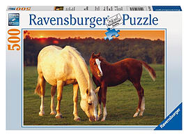Beautiful Horses 500pcPuzzles and Board Games