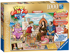 WHAT IF? The Portrait 1000pcPuzzles and Board Games