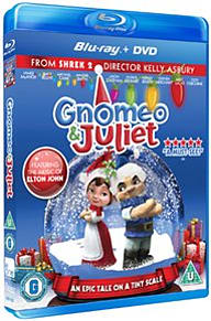 Gnomeo and JulietBlu-ray
