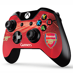 xbox one controller skin arsenal fc xbox one