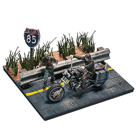 Walking Dead Construction: Daryl with ChopperFigurines