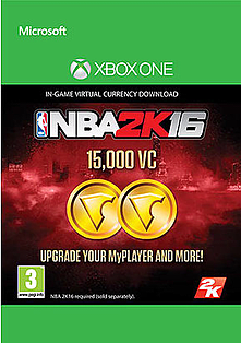 NBA 2K16 15,000 VC for XBOX ONE