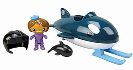 Octonauts Gup-O and DashiFigurines