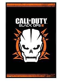 Call of Duty Gloss Black Framed Black Ops 3 COD Maxi Poster 61x91.5cmPosters