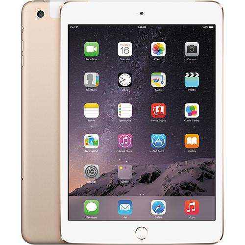 [NEW - Tablet] Apple iPad Mini 4 128GB Wifi+Cellular Tablet (Gold)
