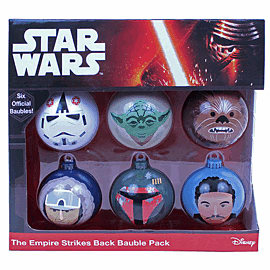 Star Wars Baubles - The Empire Strikes BackClothing and Merchandise