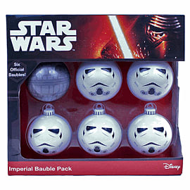 Star Wars Baubles - Imperial PackClothing and Merchandise