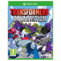 Transformers DevastationXbox OneCover Art