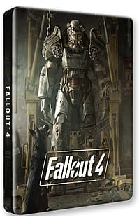 Fallout 4 Collectible Steel Tin Case (No Game)Xbox One