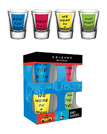 Friends Quotes 50ml Shot GlassesHome - Tableware