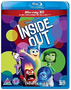 Inside Out 3D Blu-Ray3D Blu-ray