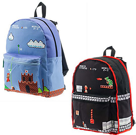 Super Mario Reversible BackpackSports Camping and Hiking