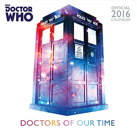 Doctor Who Classic Dr Who 2016 Square Calendar 30x30cmBooks