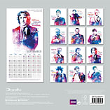 Doctor Who Classic Dr Who 2016 Square Calendar 30x30cm screen shot 1