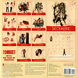 Zombies: The Year Of Infection 2016 Square Calendar 30.5x30.5cm screen shot 1