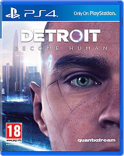 Detroit: Become Human + Only at GAME Bonus ArtbookPlayStation 4