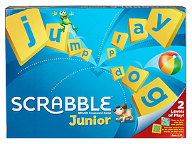 Scrabble JuniorPuzzles and Board Games
