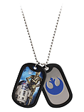Star Wars C3po & R2d2 Double Dog Tag screen shot 1