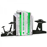 Alien Invasion Novelty Science Fiction Bookends screen shot 2
